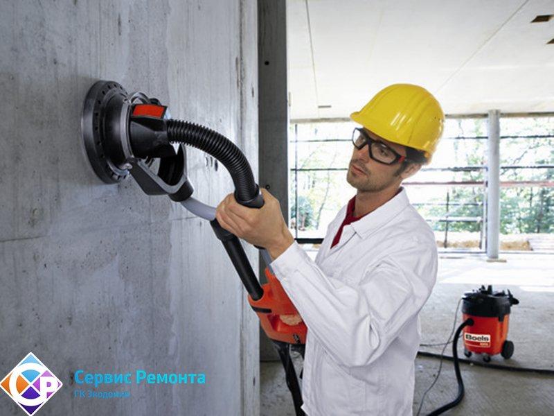 Шлифовка бетона стен купить бетон в колтушах
