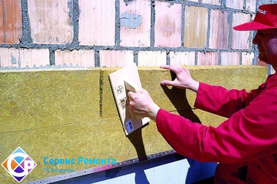 Утепление фасада вата или пенопласт