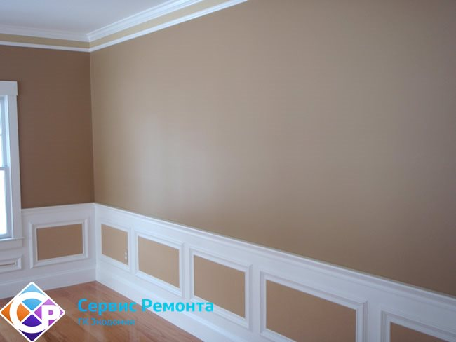 Ремонт стены под покраску